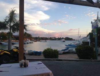 dinner in bayahibe