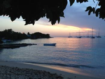 bayahibe dusk lights
